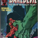 Daredevil #163 Beware The Hulk c.1980