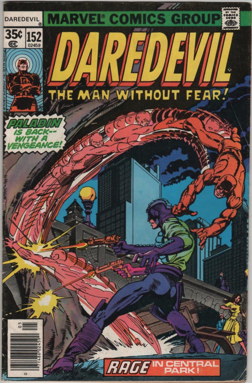 Daredevil #152 Rage in Central Park, Paladin c.1978