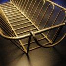 Bent Wire Rectangular Basket c.1940