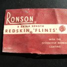 Ronson Flints, Paper Packets c.1940