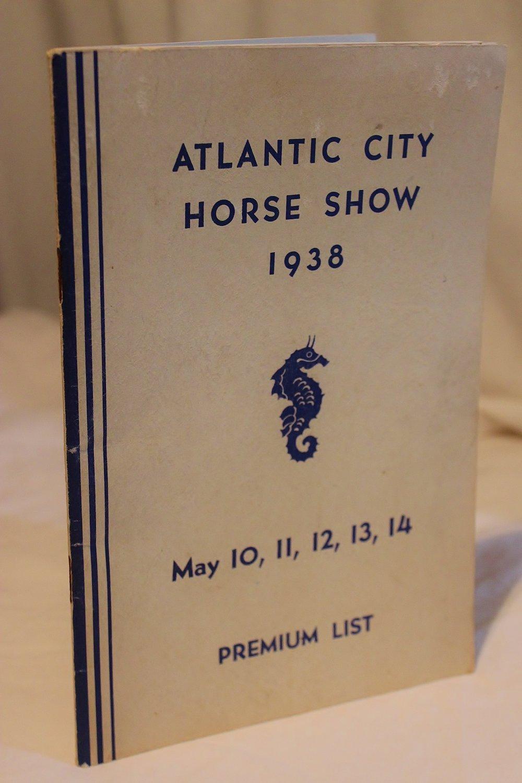 Vintage Atlantic City Horse Show Premium List c.1938
