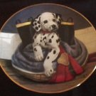 Pup in Boots Princeton Gallery Dalmatian Collector Plate