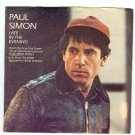 Paul Simon  Late in the Evening   45rpm Record