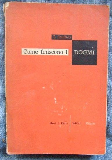 COME FINISCONO I DOGMI *Portraits Literaires*, Jouffroy