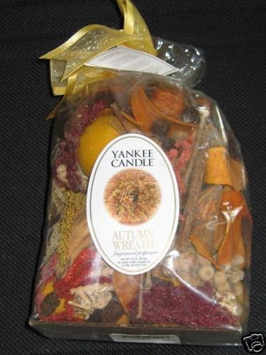 YANKEE CANDLE Fragranced Potpourri 10oz AUTUMN WREATH