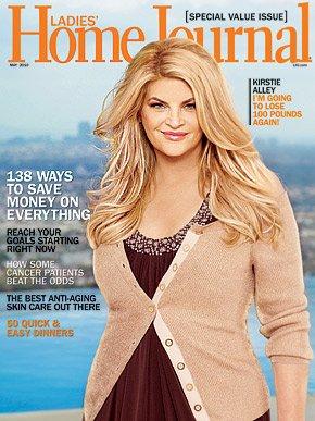 LADIES' HOME JOURNAL MAGAZINE MAY 2010 KIRSTIE ALLEY