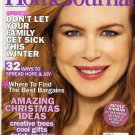 LADIES' HOME JOURNAL MAGAZINE DECEMBER 2009 / JANUARY 2010 NICOLE KIDMAN