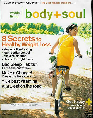 BODY + SOUL MAGAZINE JUNE 2009
