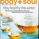BODY + SOUL MAGAZINE DECEMBER 2009