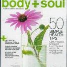 BODY + SOUL MAGAZINE NOVEMBER 2009