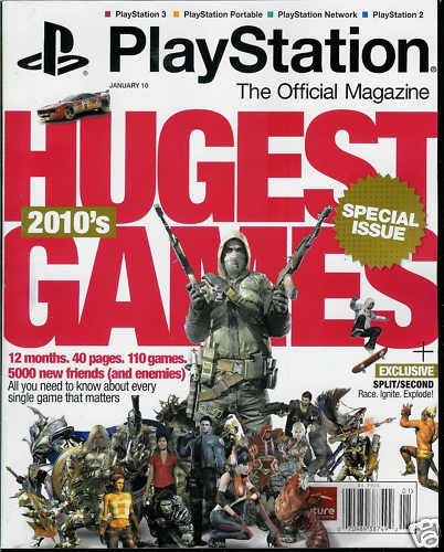 PLAYSTATION: THE OFFICIAL MAGAZINE JANUARY 2010