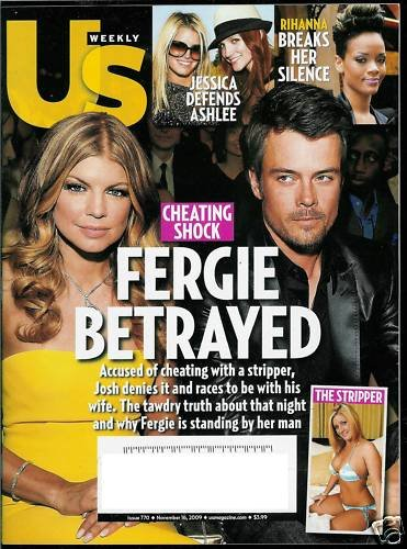 US WEEKLY MAGAZINE NOVEMBER 16, 2009 FERGIE BETRAYED