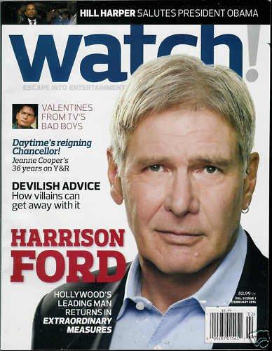 WATCH! MAGAZINE FEBRUARY 2010 HARRISON FORD