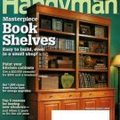 THE FAMILY HANDYMAN MAGAZINE DEC/JAN 2010 BOOK SHELVES