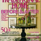 TRADITIONAL HOME MAGAZINE SEPTEMBER 2007
