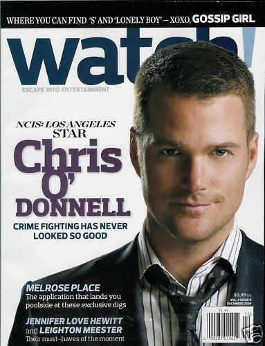 WATCH! MAGAZINE DECEMBER 2009 CHRIS O'DONNELL