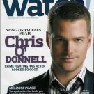 WATCH! MAGAZINE DECEMBER 2009 CHRIS O'DONNELL