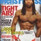 MEN'S FITNESS MAGAZINE SEPTEMBER 2009 LARRY FITZGERALD