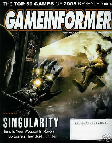 GAME INFORMER MAGAZINE 190 FEBRUARY 2009 SINGULARITY