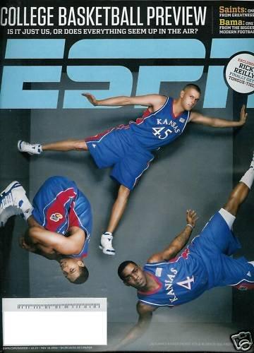 ESPN MAGAZINE NOV. 16, 2009 COLLEGE BASKETBALL PREVIEW