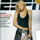 ESPN MAGAZINE JUNE 29, 2009 MARIA SHARAPOVA