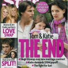 STAR MAGAZINE NOVEMBER 9, 2009 TOM & KATIE THE END