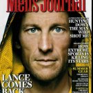 MEN'S JOURNAL MAG. JULY / AUGUST 2009 LANCE ARMSTRONG