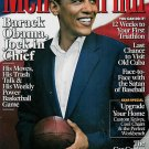 MEN'S JOURNAL MAGAZINE MARCH 2009 BARACK OBAMA