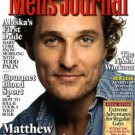 MEN'S JOURNAL MAGAZINE MAY 2009 MATTHEW McCONAUGHEY