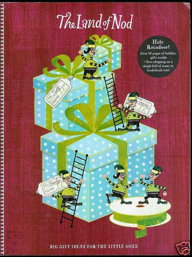 THE LAND OF NOD CATALOG HOLIDAY GIFT COLLECTION 2009