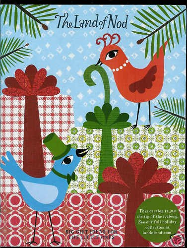 THE LAND OF NOD CATALOG HOLIDAY GIFT COLLECTION - 2009