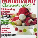 WOMAN'S DAY MAGAZINE DECEMBER 1, 2009