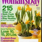 WOMAN'S DAY MAGAZINE APRIL 14, 2009