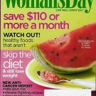 WOMAN'S DAY MAGAZINE JUNE 16, 2009