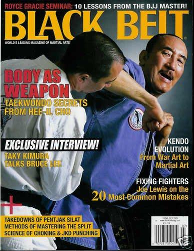BLACK BELT MAGAZINE JULY 2009, HEE-IL CHO