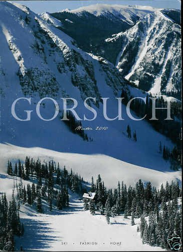 GORSUCH CATALOG WINTER 2010