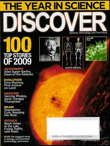 DISCOVER MAGAZINE JAN / FEB 2010 - TOP STORIES OF 2009