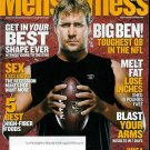 MEN'S FITNESS MAGAZINE DECEMBER 2009 BEN ROETHLISBERGER