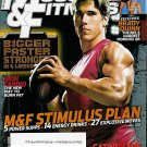 MUSCLE & FITNESS MAGAZINE OCTOBER 2009 BRADY QUINN