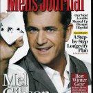 MEN'S JOURNAL MAGAZINE FEBRUARY 2010 MEL GIBSON