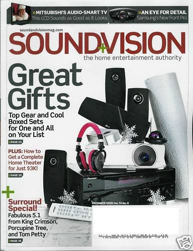 SOUND & VISION MAGAZINE DECEMBER 2009