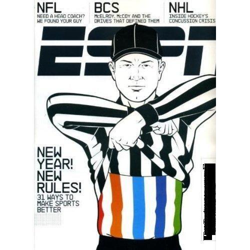ESPN MAGAZINE JANUARY 11, 2010 GREG McELROY