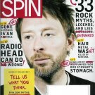 SPIN MAGAZINE DECEMBER 2009 RADIO HEAD