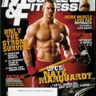 MUSCLE & FITNESS MAGAZINE AUGUST 2009 NATE MARQUARDT