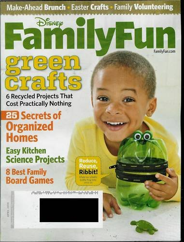 FAMILY FUN MAGAZINE APRIL 2010
