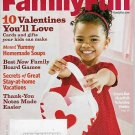 FAMILY FUN MAGAZINE FEBRUARY 2009