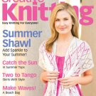 CREATIVE KNITTING MAGAZINE JULY 2009