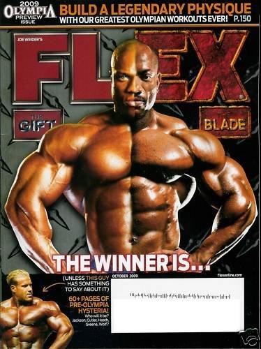 FLEX MAGAZINE OCTOBER 2009 THE GIFT VS. THE BLADE