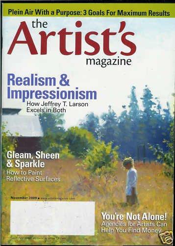 THE ARTIST'S MAGAZINE NOVEMBER 2009
