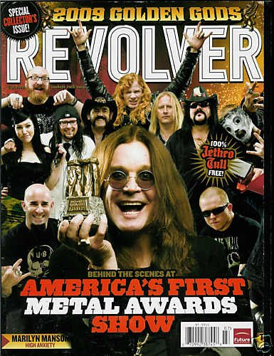 REVOLVER MAGAZINE JULY 2009 AMERICA'S METAL AWARDS SHOW